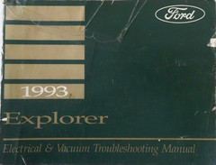 1993 Ford Aerostar/Ranger/Explorer Service Manual Table of Contents 1