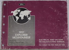 1997 Explorer Mountaineer Electrical and Vacuum Troubleshooting Manual
