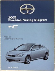 Electrical Wiring Diagrams 2005 Scion tC