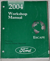 2004 Ford Escape Workshop Manual