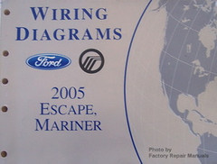 Wiring Diagrams Ford Mercury 2005 Escape, Mariner