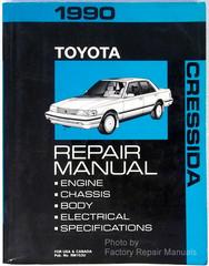 1990 Toyota Cressida Repair Manual