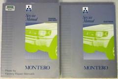1992-1994 Mitsubishi Montero Service Manual Volume 1, 2
