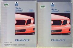 Mitsubishi Diamante Service Manual 1992 1993 1994 1995 Volume 1, 2