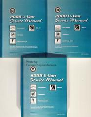 2008 Chevrolet Uplander Buick Terraza Pontiac Montana SV6 Saturn Relay Service Manuals