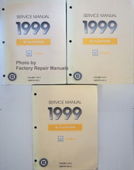 Service Manual 1999 Oldsmobile Intrigue Volume 1, 2, 3