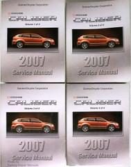 2007 Dodge Caliber Service Manual Volume 1, 2, 3, 4