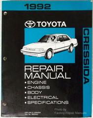 1992 Toyota Cressida Repair Manual