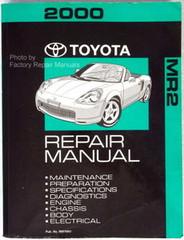 2000 Toyota MR2 Spyder Repair Manual