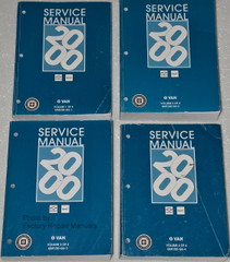 Service Manual 2000 Chevrolet GMC G Van Volume 1, 2, 3, 4