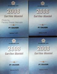 2008 Chrysler PT Cruiser Service Manual Volume 1, 2, 3, 4