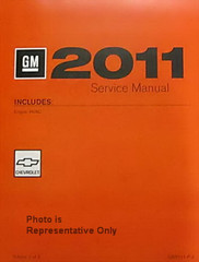 2011 Chevy Aveo Service Manual - Representative Photo Only