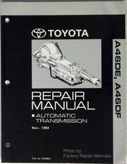 1991 1995 Toyota Previa Automatic Transmission Repair Manual A46DE A46DF