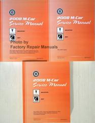 2008 M Car Service Manual Pontiac Solstice Saturn Sky Volume 1, 2, 3