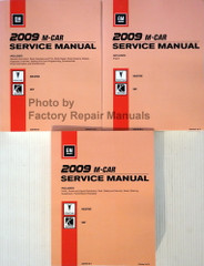 2009 Pontiac Solstice Saturn Sky Service Manual Volume 1, 2, 3