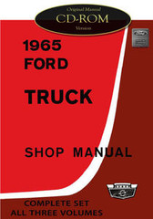 1965 Ford Truck Shop Manual CD