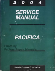 2004 Chrysler Pacifica Service Manual