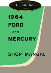 1964 Ford and Mercury Large Car Service Manual CD