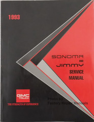 1993 GMC Sonoma and Jimmy Service Manual