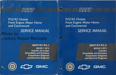 1997 P32/42 Chassis Front Engine Motor Home and Commercial Service Manual Volume 1, 2
