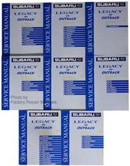 Subaru Legacy & Outback 2001 Service Manual