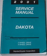 2001 Dakota Dakota Service Manual