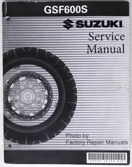 2000 2004 SUZUKI BANDIT 600 Service Manual GSF600 GSF S Shop Repair 01 2002 2003