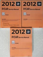 2012 Chevrolet Cruze Service Manual Volume 1, 2, 3