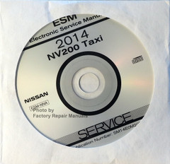 2014 Nissan NV200 Taxi Electronic Service Manual CD
