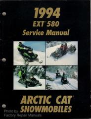1994 Arctic Cat EXT 580 Snowmobile Factory Service Manual - Original Shop Repair