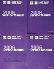 2006 Chevrolet Kodiak GMC TopKick Service Manual Volume 1, 2, 3, 4