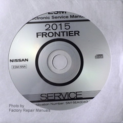 2015 Nissan Frontier Electronic Service Manual CD