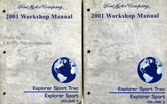 2001 Ford Explorer Sport Trac And Explorer Sport Electrical Wiring Diagrams Manual Factory Repair Manuals