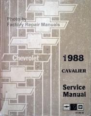1988 Chevrolet Cavalier Service Manual