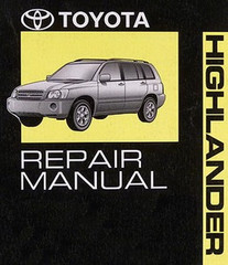 2005 Toyota Highlander Factory Service Manual 3 Volumes - Original Shop Repair
