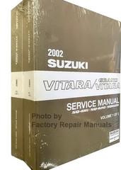 2002 Suzuki Vitara/Grand Vitara Service Manual Volume 1, 2