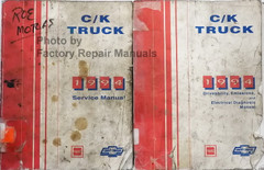 C/K Truck 1994 Service Manual GMC Chevrolet
