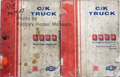 C/K Truck 1994 Service Manual GMC Chevrolet