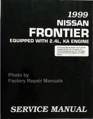 1999 Nissan Frontier 2.4L Service Manual
