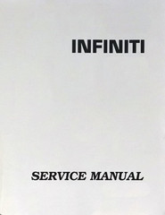 2004 Infiniti FX35 / FX45 Factory Service Manual 6 Vol Set