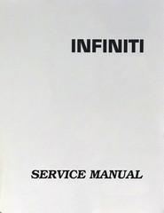 2007 Infiniti FX35 / FX45 Service Manual Set