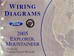 2005 Ford Explorer and Mercury Mountaineer Electrical Wiring Diagrams Manual