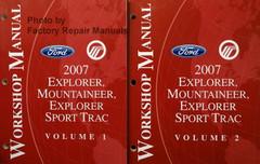 2007 Ford Explorer, Sport Trac & Mercury Mountaineer Workshop Manual Volume 1, 2