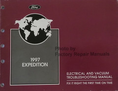 1997 Expedition Electrical and Vacuum Troubleshooting Manual
