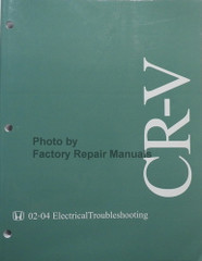 2002-2004 Honda CR-V Electrical Troubleshooting Manual