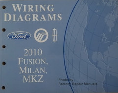 Wiring Diagrams Ford Mercury Lincoln 2010 Fuysion, Milan, MKZ