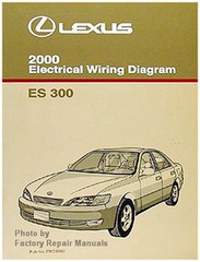 2000 Lexus ES300 Electrical Wiring Diagrams - Original ES 300 Manual