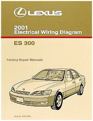 2001 Lexus ES300 Electrical Wiring Diagrams - Original ES 300 Manual