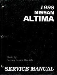 1998 Nissan Altima Service Manual