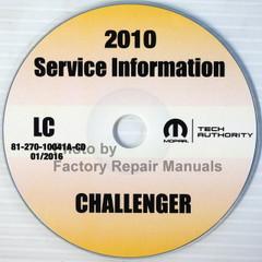 2010 Dodge Challenger Mopar Service Information